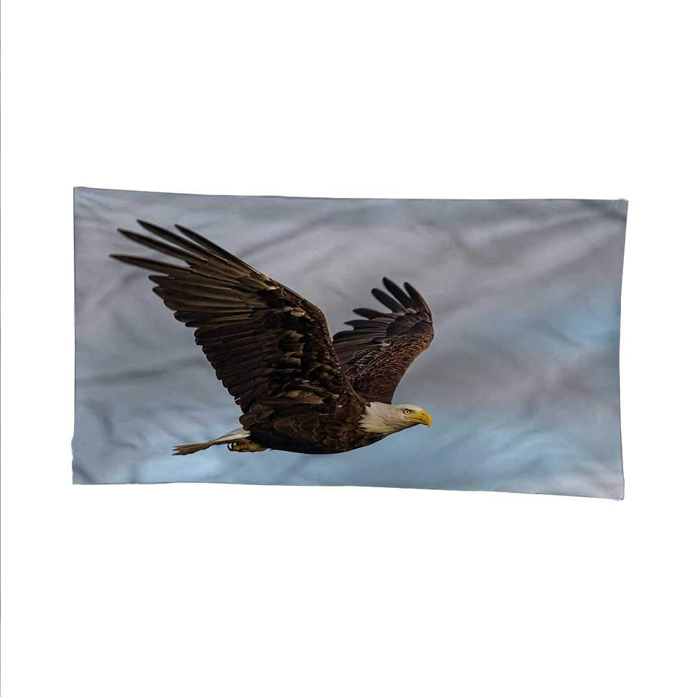 color04 93W x 70L Inch color04 93W x 70L Inch Eaglecool tapestrytapestry for wallHunter Bird in Open Sky 93W x 70L Inch