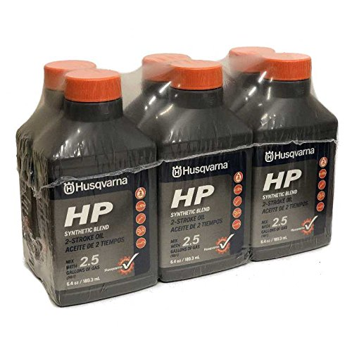 Cycle 2 Husqvarna Oil (Husqvarna HP 2 Stroke Oil 6.4 Bottle 6-Pack 593152603)