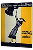 Tin Sign XXL Bar Restaurant woman suffrage