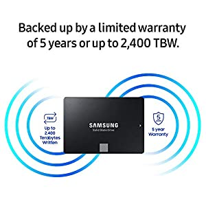 "Samsung 860 EVO 500GB SATA 2.5"" Internal SSD (MZ-76E500/AM) [Canada Version]"