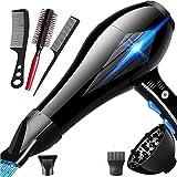 Nclon Dry hair dryer Powerful Professional 4000w Household,Salon...