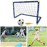 PowerLead Score Facile Football Set Portable pliant Objectif Enfants Kid Football Door Set