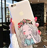 Best iLuv Cover For Iphone 5s - 1 Piece Beauty Girl TPU Soft Silicon Transparent Review