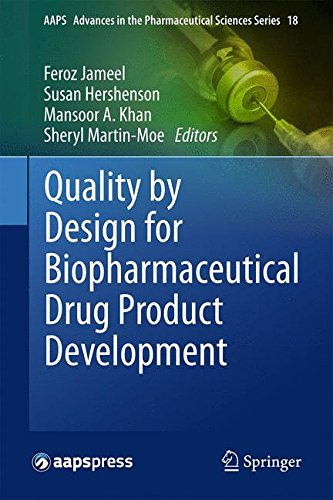 Quality by Design for Biopharmaceutical Drug Product Development (AAPS Advances in the Pharmaceutical Sciences Series)