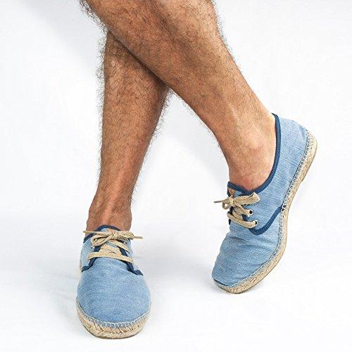 Espadrillas Uomo Jovc645 45 Slowers Jeans Blu EU RZO5Cqw