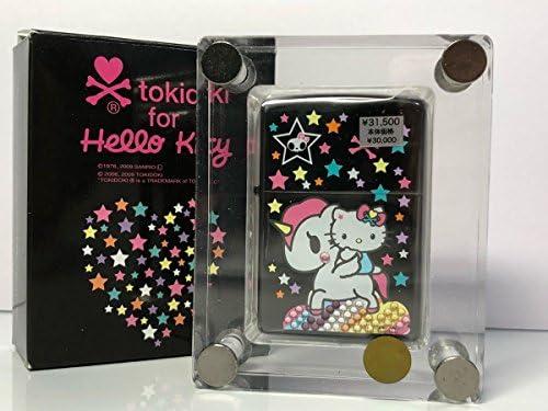 ハローキティ × tokidoki ZIPPO ブラック ジッポライター