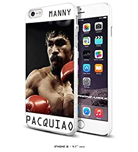 Manny Pacquiao the Champion, Boxing, Boxer,Cool iPhone 6 - 4.7 Inch Smartphone Case Cover Collector iphone TPU Rubber Case White [By PhoneAholic]