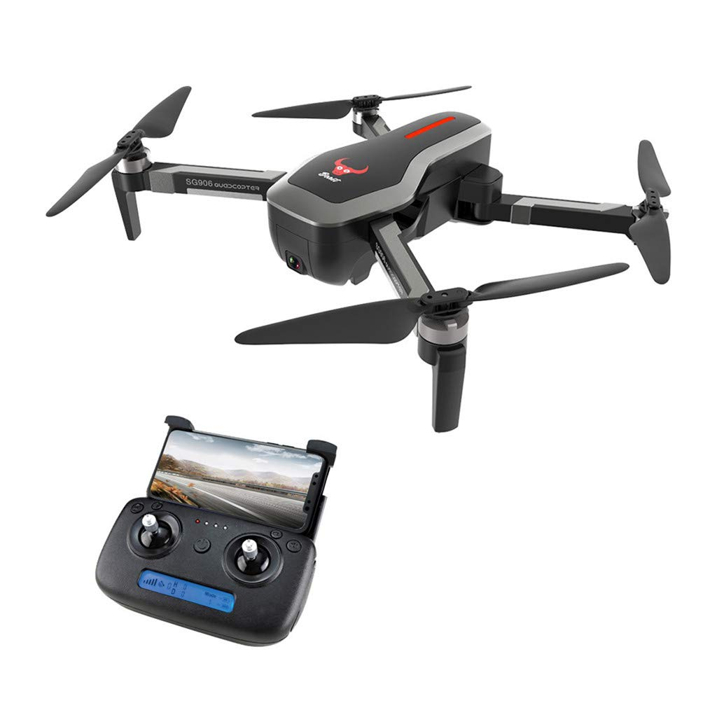 Miklan ZLRC Beast SG906 GPS 5G WiFi FPV 4K Ultra HD Camera Brushless Foldable RC Drone Quadcopter ,11.2x9.8x4in