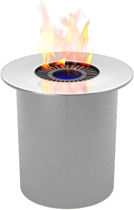 Regal Flame PRO Ethanol Circular Cup Burner Insert for Easy Conversion from Gel Fuel Cans, Gel Fireplace Fuel, Gel Fire Cans