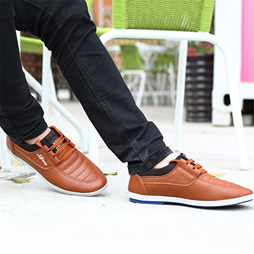Outdoor Personalità Autunno Casual Men's Leather Traspirante Xue C leggero Primavera Shoes qZFYP8w