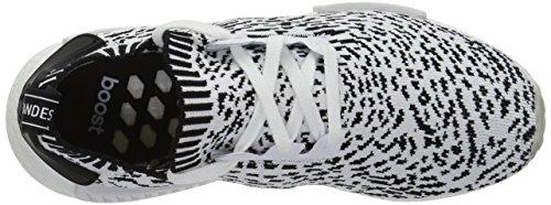 Blanco r1 NMD Blanco Mujer Adidas Negro para Primeknit Entrenamiento Zapatillas de H4n85wq