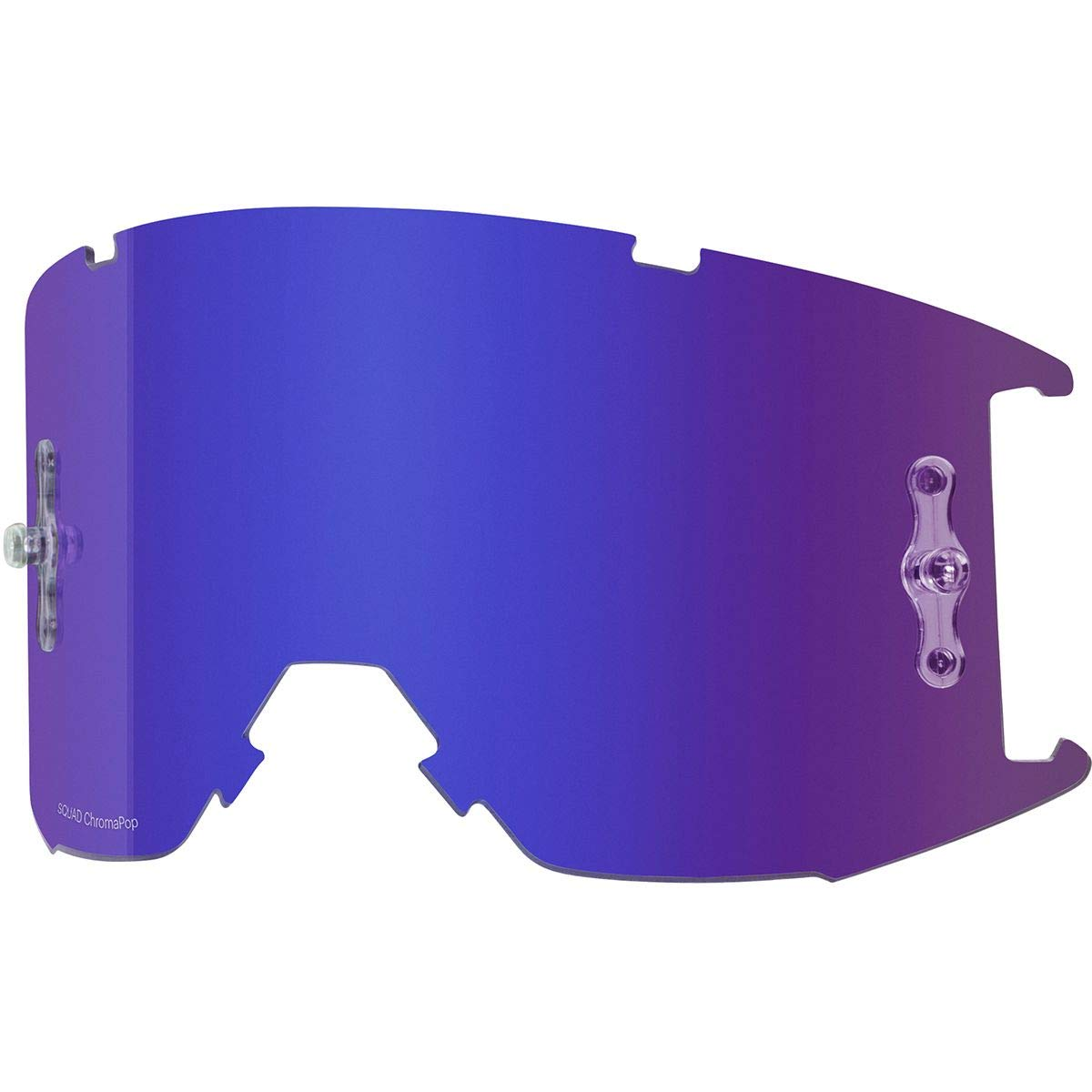 Smith Squad MTB Goggle Replacement Lens Chromapop Everyday Violet AF, One Size by Smith Optics