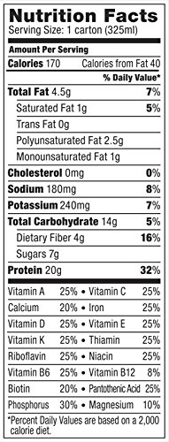 Vega Protein+ Shake, 11 Ounce, 12 Count