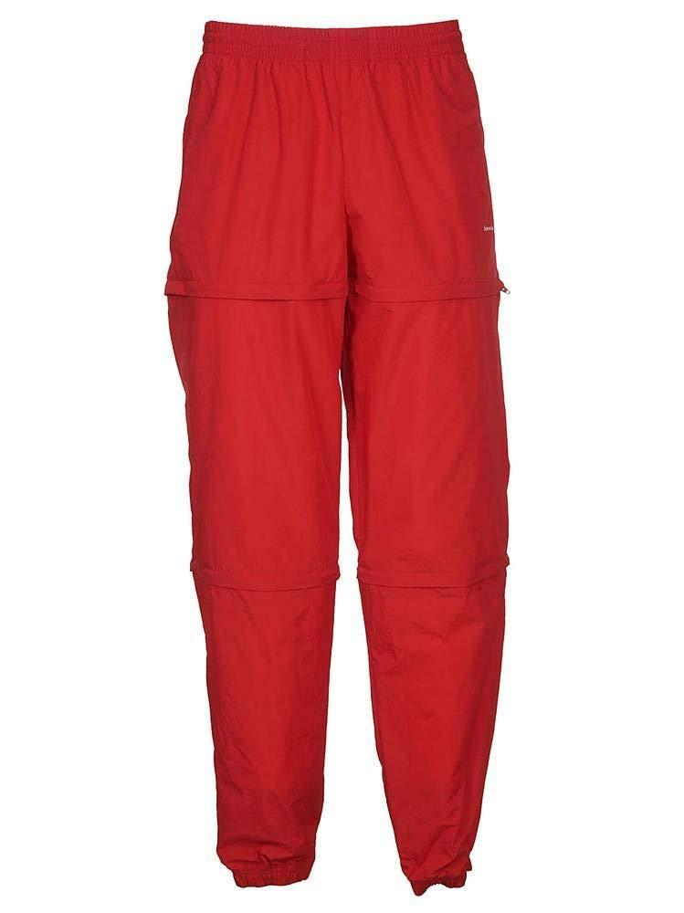Brand Size L Balenciaga Men's 508490TDO056400 Red Polyamide Pants