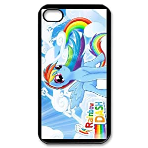 Anime Series Cartoon Design Stylish My Little Pony Protective Case for iphone 4 4S Case N07