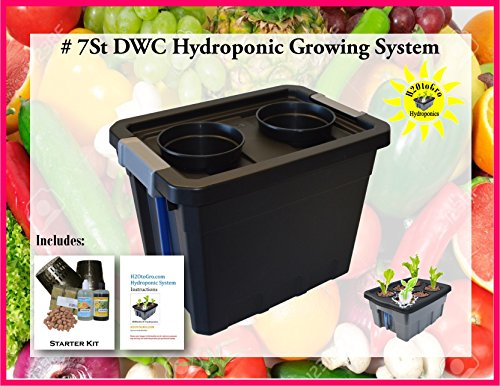 Complete Hydroponic Plant Growing system DWC KIT #7St-2 H2OtoGro