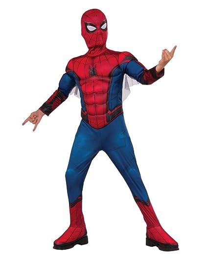 Traje de Niño Spider Man Homecoming S: Amazon.es: Juguetes y ...