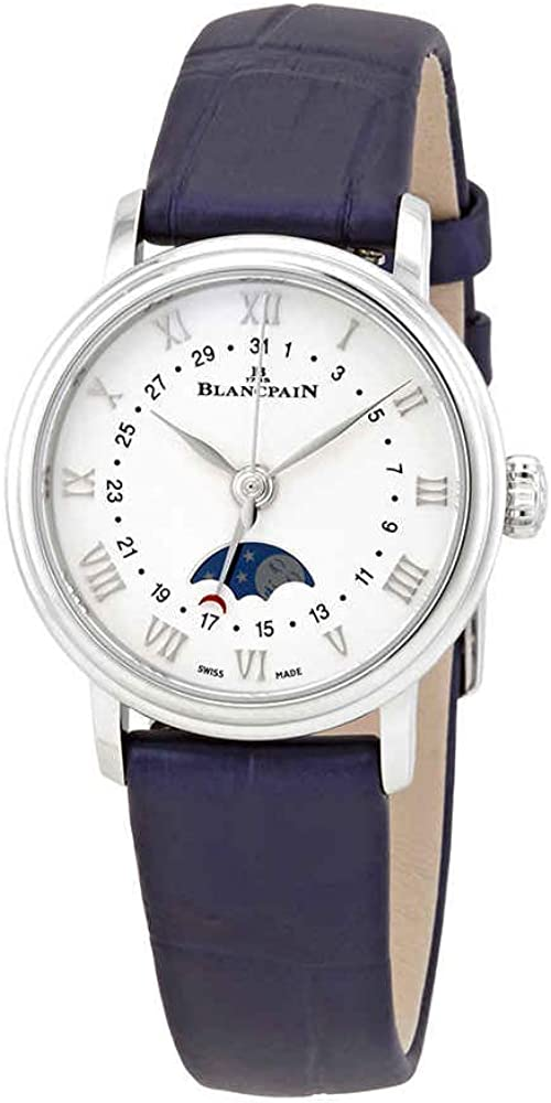Blancpain Villeret Quantieme Phases de Lune Automatic Ladies Watch 6106-1127-55A