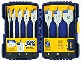 Irwin Tools 341008 High Speed Steel Spade Drill Bit Set Speedbor