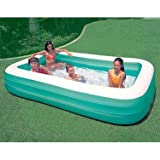"Family Pool - Inflatable Wading Pool Big Enough For Family & Friends To Sit Or Lounge! - 120"" x 72"""