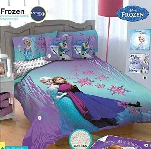 Frozen Reversible Comforter Complete Set (Queen)