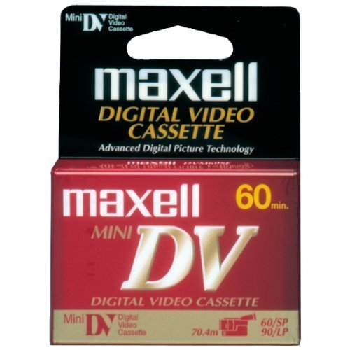 Maxell Mini Digital Video Tapes (Single) Product Category: Video Tape & Accessories/Mini Digital Video Tape by Maxell