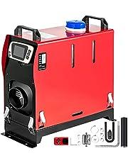 VEVOR Opgewaardeerde dieselverwarmer 8KW Dieselbrandstofverwarmer 12V Alles in één diesel-luchtverwarmer met LCD-schakelaar, afstandsbediening, geluiddemper, enkele luchtuitlaat voor autotrucks Camper