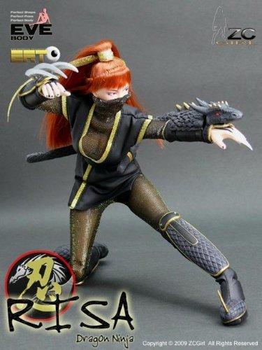 Amazon.com: ZC GIRL Dragon Ninja RISA (Lisa): Toys & Games
