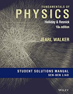 buy fundamentals of physics student solutions manual book online at rh amazon in Fundamentals of Physics Halliday Resnick Fundamentals of Physics 9th Ed