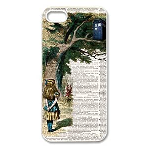 Mystic Zone Doctor Who Tardis Door Cover Case for iPhone 4/4S TPU Back Cover Fits Case KEK2109 by runtopwell
