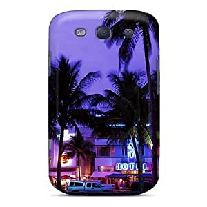 New Arrival South Beach Hotel Row For Galaxy S3 Case Cover