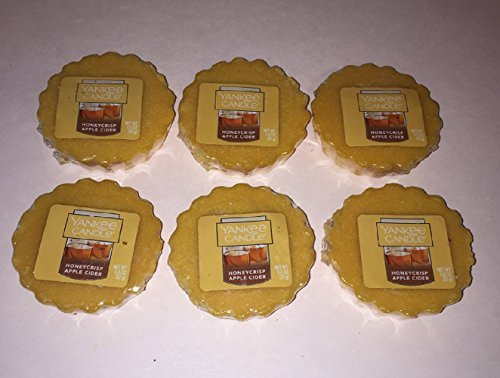 Yankee Candle Bundle of 6 Honeycrisp Apple Cider Tarts Wax (Apple Tart)