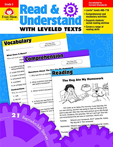 - Read & Understand with Leveled Texts, Grade 3