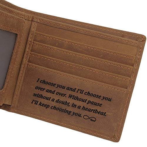 (Engraved Personalized Leather)