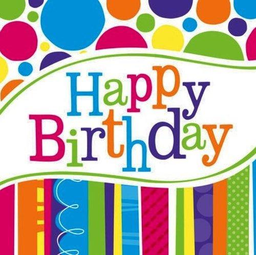 Creative Converting Birthday Napkins 54 Count
