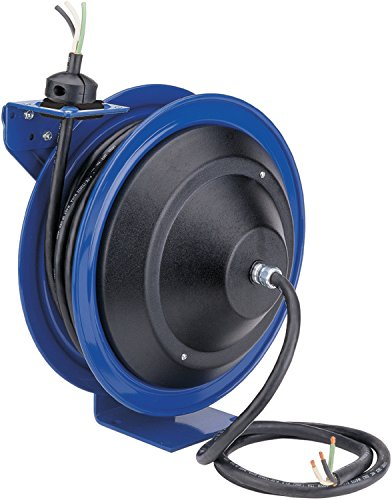 (Coxreels PC17-3510-X Power Cord Spring Rewind Reels: Less Accessory, 35' cord, 10 AWG)