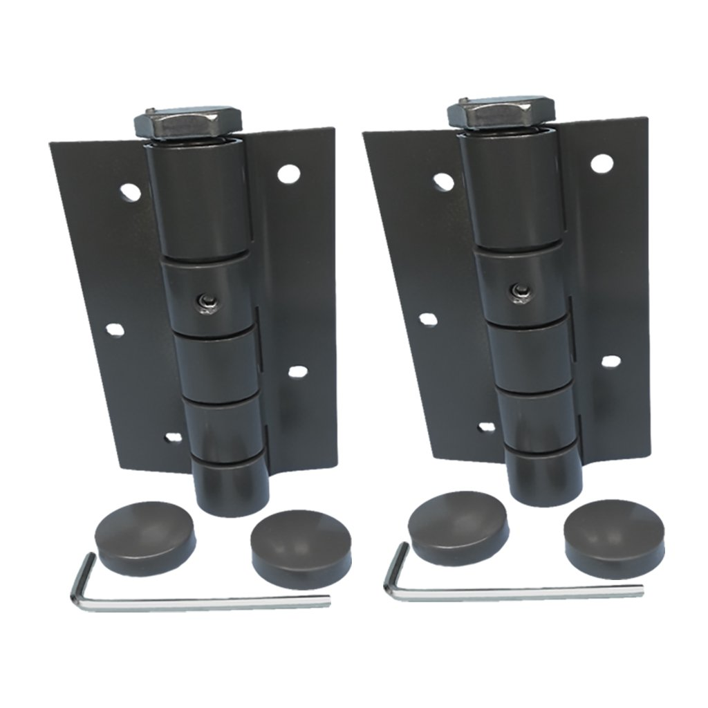 3-1/2' Spring Hinge Automatic Selfclosing Spring Hinge Adjustible Auto Hinges BRONZE SOLD IN PAIRS by National Mfg.