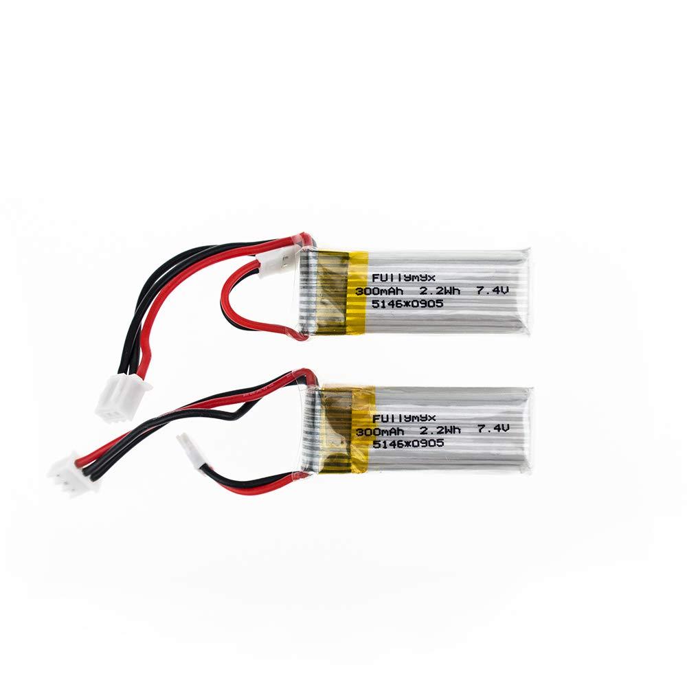 Baterias LIPO (2) 7.4V 300mah RC HHZ