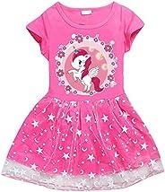 Child Masha Dress for Girls Birthday Short Sleeve Cute Dresses