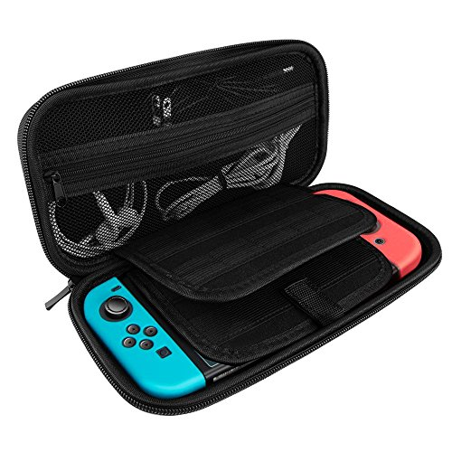 AOFU Nintendo Switch Host Protective Cover Shell Deluxe Travel Carry Case [Hard] [Portable] Travel Carry Shell Pouch for Nintendo Switch ()