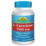 Nova Nutritions L-Carnitine 1000 mg - 120 Tablets