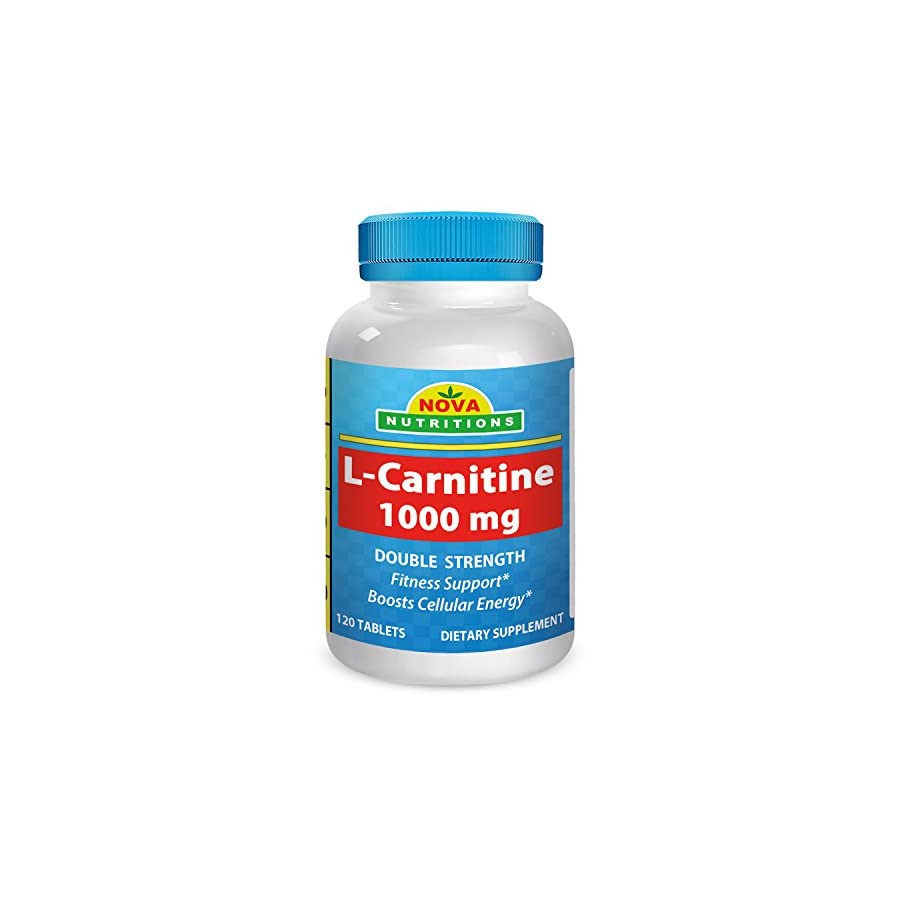 Nova Nutritions L Carnitine 1000 mg 120 Tablets