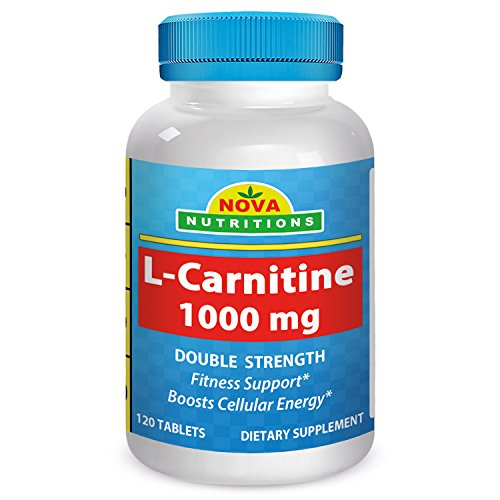 Nova Nutritions L-Carnitine 1000 mg 120 Tablets