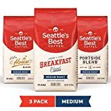 Seattle's Best Coffee Medium Roast Ground Coffee Variety Pack, 12 Ounce