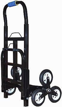 BBG Carro Reciclaje de vehículos Multifunción Portátil, Carros de mano Escalera Coche Escalera de seis ruedas Escaleras Artefacto Transporte de equipaje Carro Pesado Rey Abajo Remolque plegable,De co: Amazon.es: Bricolaje y herramientas