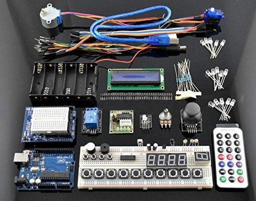 SATKIT Kit Iniciacion Arduino (incluye Arduino Uno compatible ...