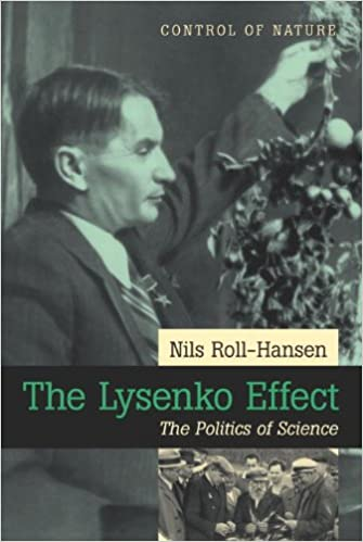 Book Lysenko Effect: The Politics of Science (Control of Nature)
