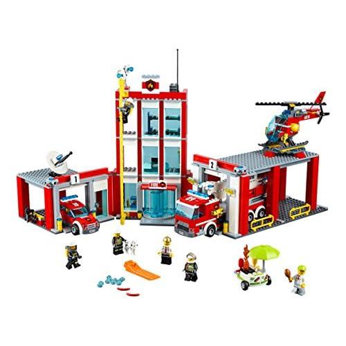 LEGO City - Estación de bomberos (60110) cheap - zonne-wende.be