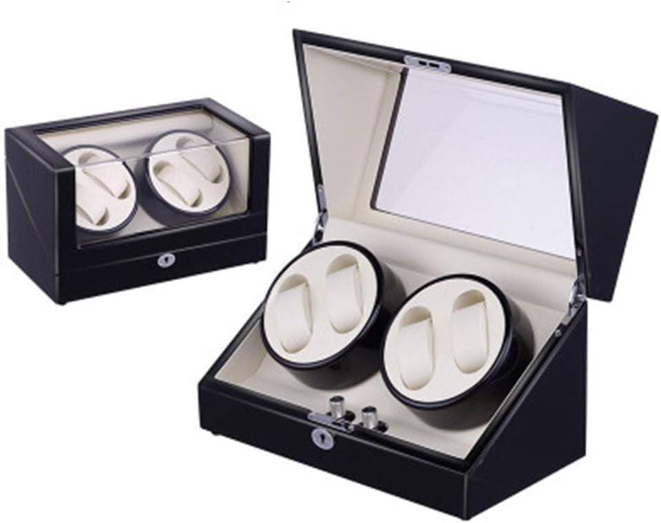 JF - Expositor automático para Relojes (Adaptador de Corriente, Caja mecánica con Pilas, Unisex): Amazon.es: Electrónica