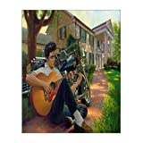 """Custom Elvis Canvas Prints 8"""" x 10"""" Inch - Stretched and Framed Ready to Hang Modern Canvas Wall Art Print On Canvas Home Decor Wall Artwork"""